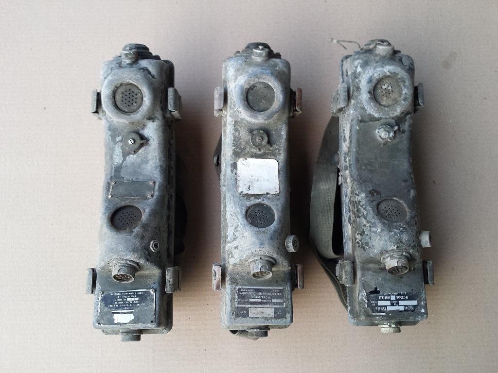 RADIO RECEIVER TRANSMITTER PRC-6